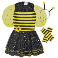 Oblačila Deklice Kostumi Fun Costumes COSTUME ENFANT BEE BEE Večbarvna