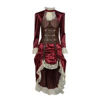 Oblačila Ženske Kostumi Fun Costumes COSTUME ADULTE LADY STEAMPUNK Večbarvna