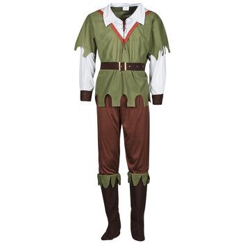 Oblačila Moški Kostumi Fun Costumes COSTUME ADULTE FOREST HUNTER Večbarvna