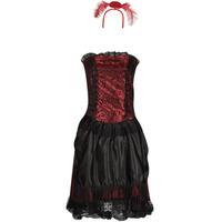Oblačila Ženske Kostumi Fun Costumes COSTUME ADULTE SALOON GIRL Večbarvna