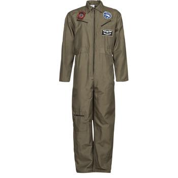 Oblačila Moški Kostumi Fun Costumes COSTUME ADULTE PILOTE JET Večbarvna
