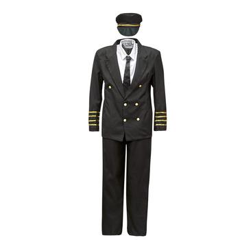 Oblačila Moški Kostumi Fun Costumes COSTUME ADULTE PILOTE Večbarvna