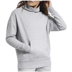 Oblačila Ženske Puloverji Reebok Sport TE Textured Warm Coverup Siva