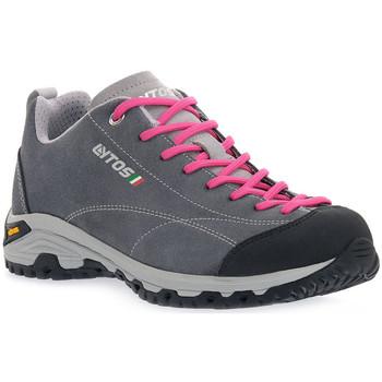 Čevlji  Ženske Pohodništvo Lytos LE FLORIAN TM82 Grigio