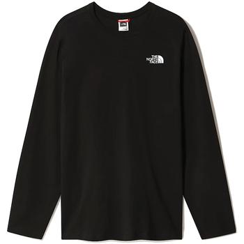 Oblačila Moški Majice z dolgimi rokavi The North Face NF0A493L Črna