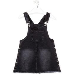 Oblačila Deklice Kombinezoni Losan 024-7000AL Črna