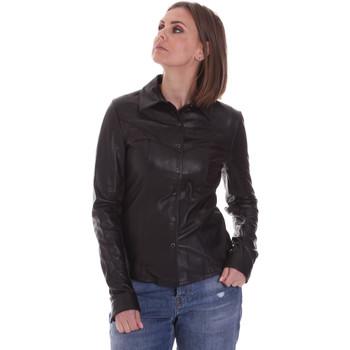 Oblačila Ženske Srajce & Bluze La Carrie 092P-C-110 Črna