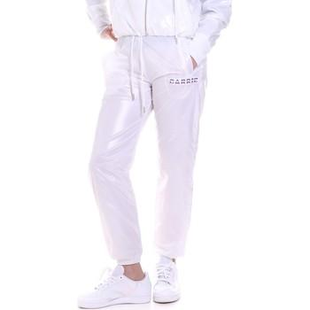 Oblačila Ženske Spodnji deli trenirke  La Carrie 092M-TP-421 Biely