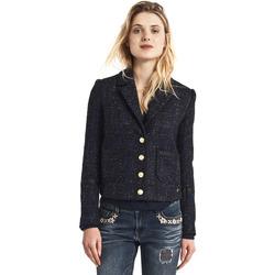 Oblačila Ženske Jakne Gaudi 821BD35025 Črna