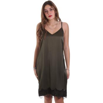 Oblačila Ženske Kratke obleke Jijil JPI19AB519 Zelena