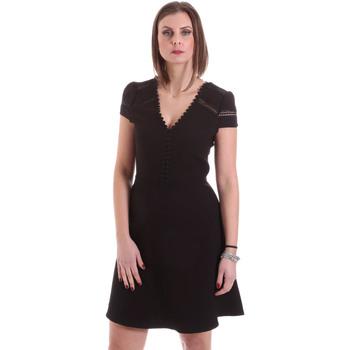 Oblačila Ženske Kratke obleke Dixie A529M068 Črna