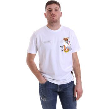 Oblačila Moški Majice s kratkimi rokavi Disclaimer 21EDS50512 Biely
