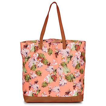 Torbice Ženske Nakupovalne torbe Superdry LARGE PRINTED TOTE Rožnata