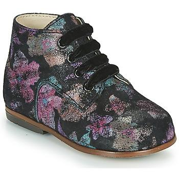 Čevlji  Deklice Visoke superge Little Mary MILOTO Črna