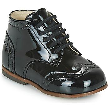 Čevlji  Deklice Visoke superge Little Mary LORD Črna