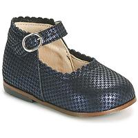 Čevlji  Deklice Balerinke Little Mary VOCALISE Modra