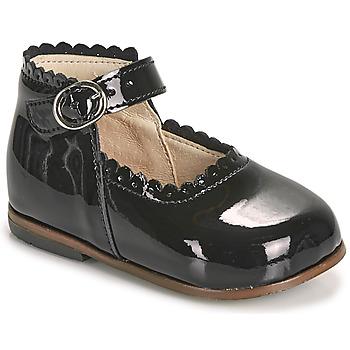 Čevlji  Deklice Balerinke Little Mary VOCALISE Črna