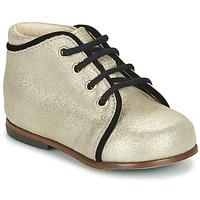 Čevlji  Deklice Visoke superge Little Mary MEGGIE Srebrna