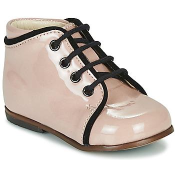 Čevlji  Deklice Visoke superge Little Mary MEGGIE Rožnata