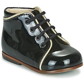 Čevlji  Deklice Visoke superge Little Mary MEGGIE Črna