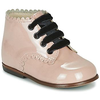 Čevlji  Deklice Visoke superge Little Mary VIVALDI Rožnata