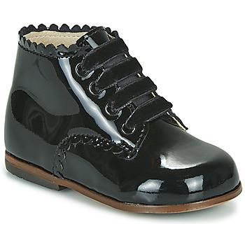 Čevlji  Deklice Visoke superge Little Mary VIVALDI Črna