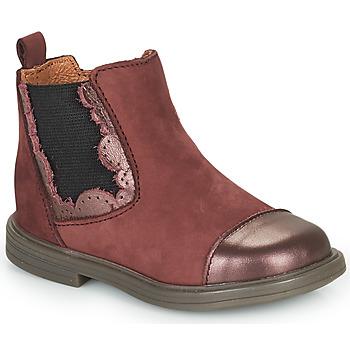 Čevlji  Deklice Polškornji Little Mary ELVIRE Bordo
