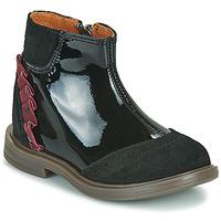 Čevlji  Deklice Polškornji Little Mary ELSIE Črna