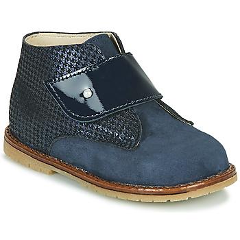 Čevlji  Deklice Visoke superge Little Mary JANYCE Modra