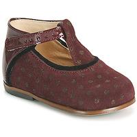 Čevlji  Deklice Visoke superge Little Mary BETHANY Bordo