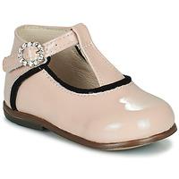 Čevlji  Deklice Visoke superge Little Mary BETHANY Rožnata