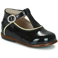 Čevlji  Deklice Visoke superge Little Mary BETHANY Črna
