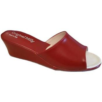 Čevlji  Ženske Natikači Milly MILLY103ros rosso