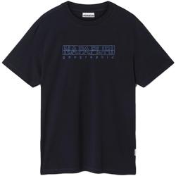 Oblačila Moški Majice s kratkimi rokavi Napapijri NP0A4EOB Modra