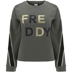 Oblačila Ženske Puloverji Freddy F0WSDS5 Zelena