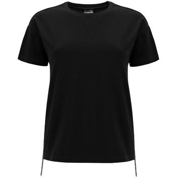 Oblačila Ženske Majice s kratkimi rokavi Freddy F0WSDT5 Črna