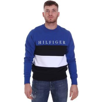 Oblačila Moški Puloverji Tommy Hilfiger MW0MW14448 Modra