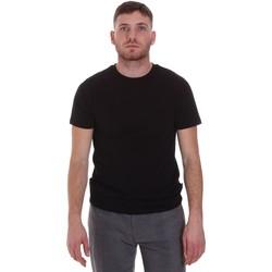 Oblačila Moški Majice s kratkimi rokavi Sseinse MI1692SS Črna