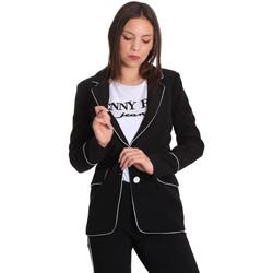 Oblačila Ženske Jakne & Blazerji Denny Rose 811DD30004 Črna