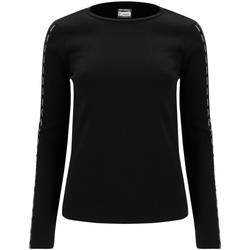Oblačila Ženske Majice z dolgimi rokavi Freddy F0WSDT6 Črna