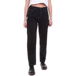 Oblačila Ženske Jeans Dickies DK133004BLK1 Črna
