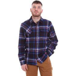 Oblačila Moški Srajce z dolgimi rokavi Dickies DK520352EL01 Modra