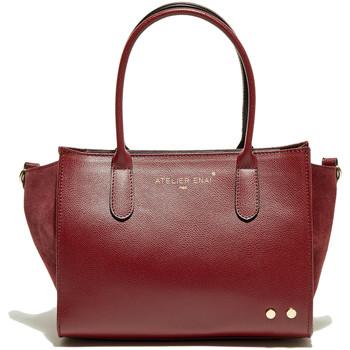 Torbice Ženske Ročne torbice Atelier Enai LEXIE BORDEAUX