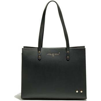 Torbice Ženske Nakupovalne torbe Atelier Enai CANDI NOIR