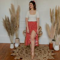 Oblačila Ženske Krila Céleste TOURTERELLE Rdeča / Večbarvna