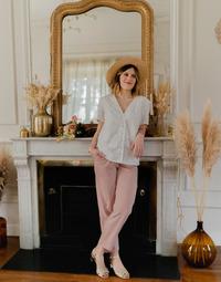 Oblačila Ženske Topi & Bluze Céleste MESANGE Bela