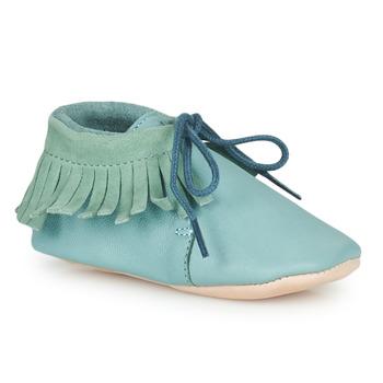 Čevlji  Otroci Nogavice Easy Peasy MEXIMOO Zelena