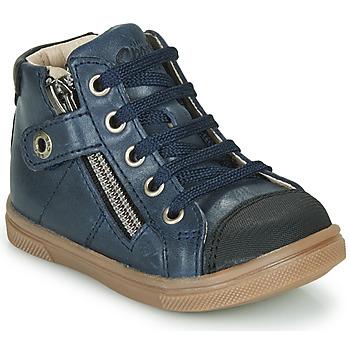 Čevlji  Dečki Visoke superge GBB KAMIL Modra