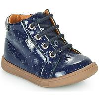 Čevlji  Deklice Visoke superge GBB FAMIA Modra