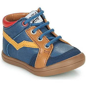Čevlji  Dečki Visoke superge GBB ASTORY Modra